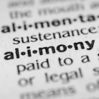 Alimony Reductions
